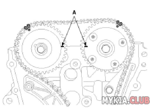 Метки цепи ГРМ Cerato 1,6 (1).jpg